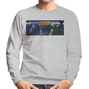 Creature From The Black Lagoon Nightmare Horror Men's Sweatshirt