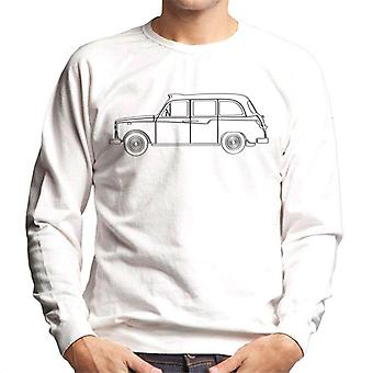 London Taxi Company TX4 Light Outline Mænd's Sweatshirt