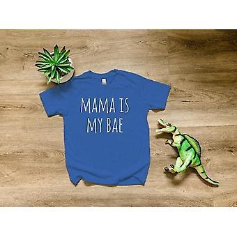 Mama är min Bae Kids Shirt