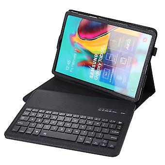 SA610 For Samsung Galaxy Tab S6 Lite 10.4 P610 / P615 (2020) 2 in 1 Detachable Bluetooth Keyboard + Litchi Texture Protective Case with Stand & Pen Sl