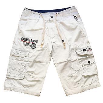 Capri New York bermudas Cargo homme Yachtsport Club pantalon court avec ceinture
