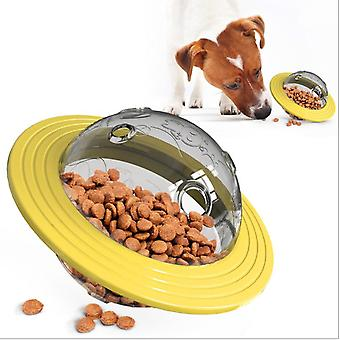 Frisbee Multi-purpose Pet Dog Chews, Molars, Plays And Leaks Educational Toys