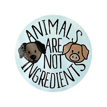 Grindstore Animals Are Not Ingredients Chopping Board