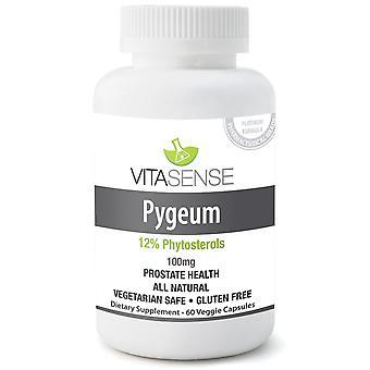 Vitasense Pygeum 100 Mg (12% Phytosterols) - Salute della prostata - 60 Capsule vegetariane