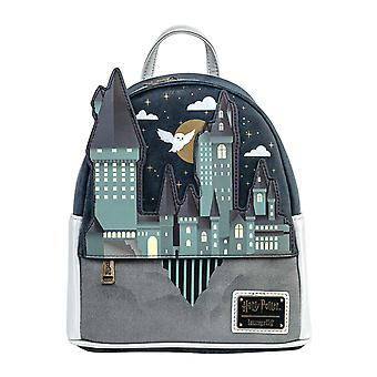 Harry Potter Mini Backpack Hogwarts Castle Scene new Official Loungefly