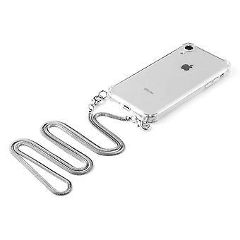 חוט חבל חבל שרשרת שרשרת סיליקון נוזלי עבור iphone