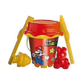 Beach Bucket Super Mario Unice Toys (18 cm)