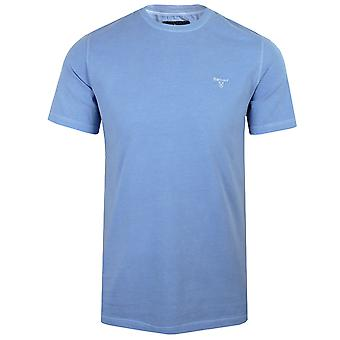 Barbour men's sky garment dyed t-shirt