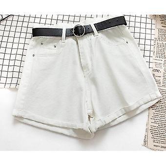 Všechny match sashes ležérní dámské džínové šortky
