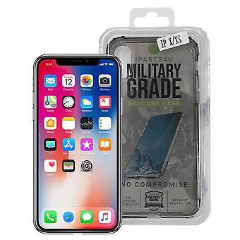 iParts4u Military Grade Silicone Case - iPhone X/XS - Black