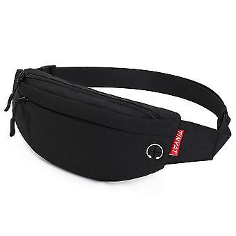 Waist Bag Pack Purse, Casual Phone Belt & Pouch Canvas Bag Hip With 4-pockets