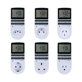 Elektronische digitale timer switch cyclische Eu Uk Au Us Plug Kitchen Outlet
