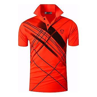 Sport T-shirts til mænd og sport, dry fit kort ærme