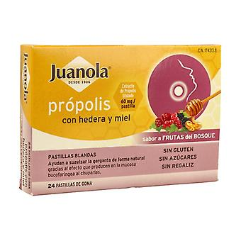 Propolis with Hedera and Honey 24 pellets (Wild berries)