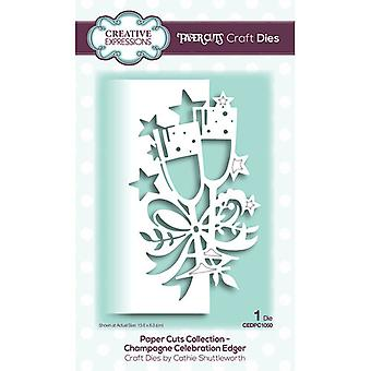 Creative Expressions Paper Cuts Collectie Cutting Dies - Champagne Edger