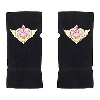 Half-finger Gloves Flying Heart Printed