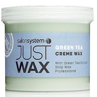 Just Wax Green Tea Crème Wax