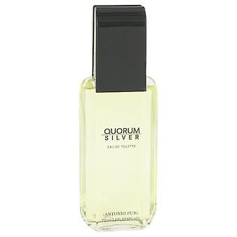 Quorum Silver Eau De Toilette Spray (Tester) By Puig 3.4 oz Eau De Toilette Spray
