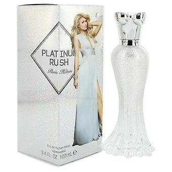 Paris Hilton Platinum Rush Eau De Parfum Spray By Paris Hilton 3.4 oz Eau De Parfum Spray