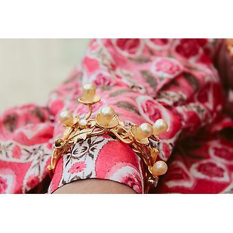 Golden Daisy Bombay Sunset Bracelet