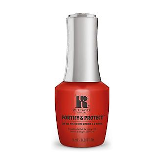 Red Carpet Manicure Fortify & Protect Gel Polish - Box Office Hit