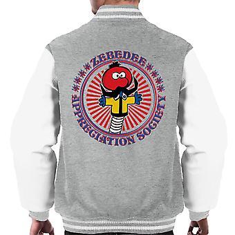The Magic Roundabout Zebedee Appreciation Society Men's Varsity Jacket
