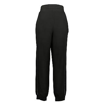 Quacker Factory Women's Pants Anytime Pull On Jogger Black A346601