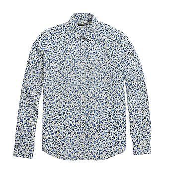 Modig själ Mens Chelsea blommig Print Casual skjorta