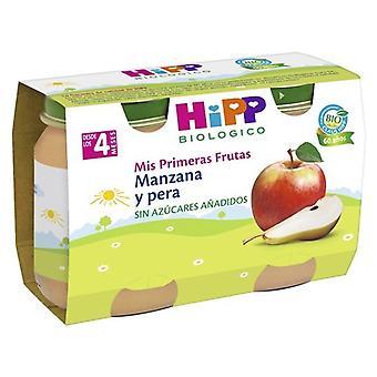 Hipp Potitos Apple and Pear 2x125 gr