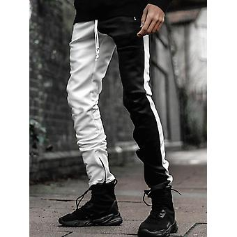 Stitching Two-color  Trousers