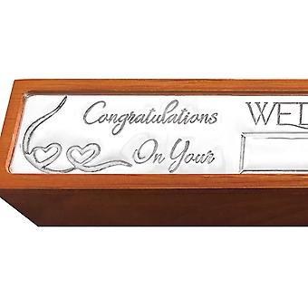 Wedding Certificate Holder Box