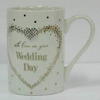 Mad Dots tazas de boda por lesser & Pavey