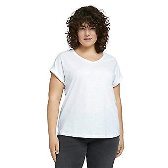 TOM TAILOR MY TRUE ME 1026363 Plussize 2-Pack T-Shirt, 29999-Black, 60 Woman