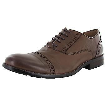 Steve Madden Mens Germain Round Toe Oxford Shoe