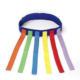 Blau ziehen den Schwanz Spielzeug klebrigtrikot Sinn Trainingsgerät Outdoor-Sport-Spiele x2564