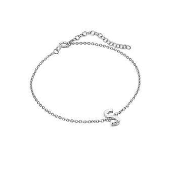 Hot Diamonds Diamond Letter S Bracelet DL630