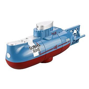 Mini Rc Submarino Ship, Modelo de Controle de Rádio para Aquário,, Brinquedo Kid, Barco