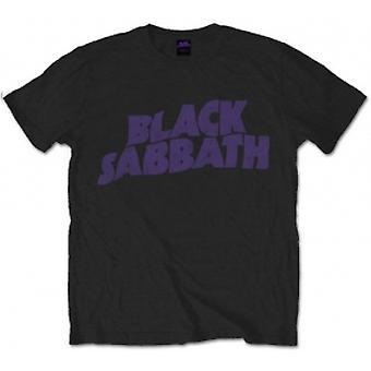 Black Sabbath - Vintage Way Logo Grand T-Shirt pour hommes - Noir