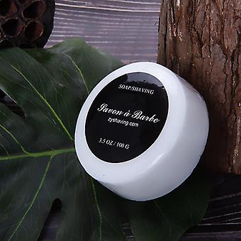 Parranajo kerma pehmeä sileä silkkinen parranajo saippua rikas vaahdotus kosteuttaa virkistää J9
