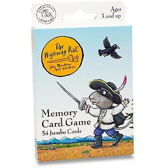 University Games Highway Rat Card Game