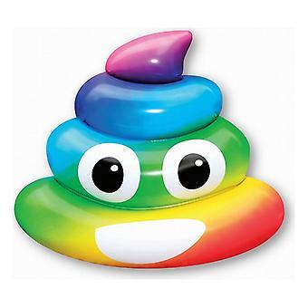 Ilmapatja Rainbow Poo (107 x 121 x 26 cm)