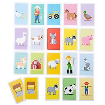 Bigjigs Oyuncak Kartları Oyunları - 2'li Paket (Eşek / Mutlu Aileler)