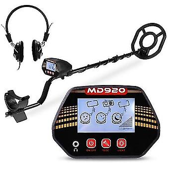 MD920 10 Inch Search Coil LCD Display Screen Handheld Portable Metal Detector Easy Installation High