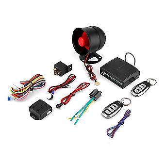 Sicurezza dell'allarme del sistema di protezione antifurto del veicolo auto a 1 modo + 2 telecomando
