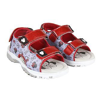 Lasten sandaalit Minni Hiiri 73644 Punainen