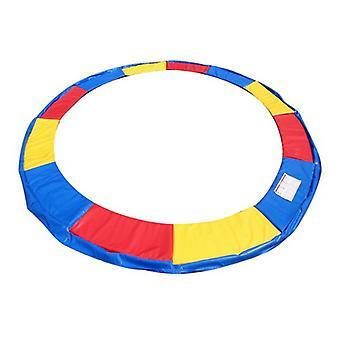 Cubierta de resorte de trampolín 422 cm 14Ft - multicolor - cubierta de borde