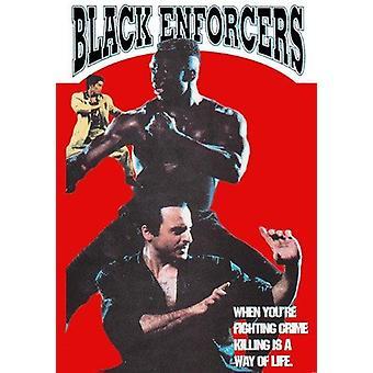 Black Enforcers Película Dvd -Vd7609A