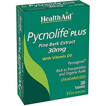 HealthAid Pycnolife Plus Tabletit 30 (804207)