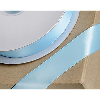 25m baby blå 10mm bred sateng bånd for håndverk