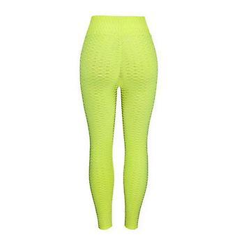 Yoga leggings elastic high waist legging breathable slim pants for women